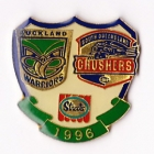 1996 ARL Warriors v Crushers Streets Pin Badge