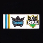 2010 Gold Coast Titans NRL Away Pin Badge