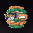 2008 Australia Day Challenge Rabbitohs v Leeds Pin Badge bn2