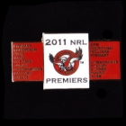 2011 Manly Warringah Sea Eagles NRL Premiers Players Pin Badge