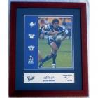 2003 NRL Player Willie Mason Signed Pin Badge Set No 142
