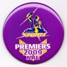 2009 Melbourne Storm NRL Premiers SS Button Badge