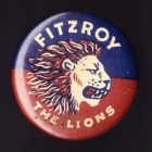 1960s Fitzroy Lions VFL The Lions Button Badge