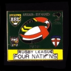 2010 RL Four Nations Pin Badge a