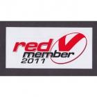 2011 St George Illawarra Dragons NRL Member Sticker
