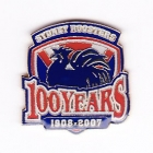 2007 Sydney Roosters NRL Member Pin Badge