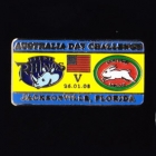 2008 Australia Day Challenge Rabbitohs v Leeds Pin Badge cs
