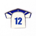 2003 Canterbury Bankstown Bulldogs NRL Jersey Pin Badge No 12