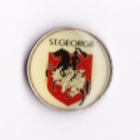 1994 St George Dragons NSWRL Silver Butterfly Pin Badge