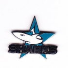 2002 Cronulla Sutherland Sharks NRL Logo Trofe Pin Badge