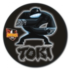 2010 New Zealand Warriors NRL Mascot SS Button Badge