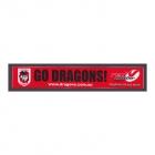 2011 St George Illawarra Dragons NRL Go Dragons Member Sticker