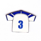 2003 Canterbury Bankstown Bulldogs NRL Jersey Pin Badge No 3