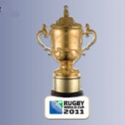 2011 RWC Webb Ellis Cup Pin Badge